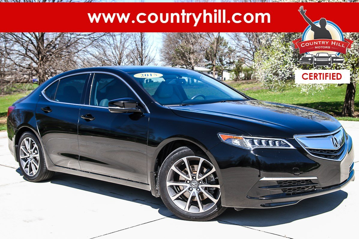 Certified Pre-Owned 2015 Acura TLX V6