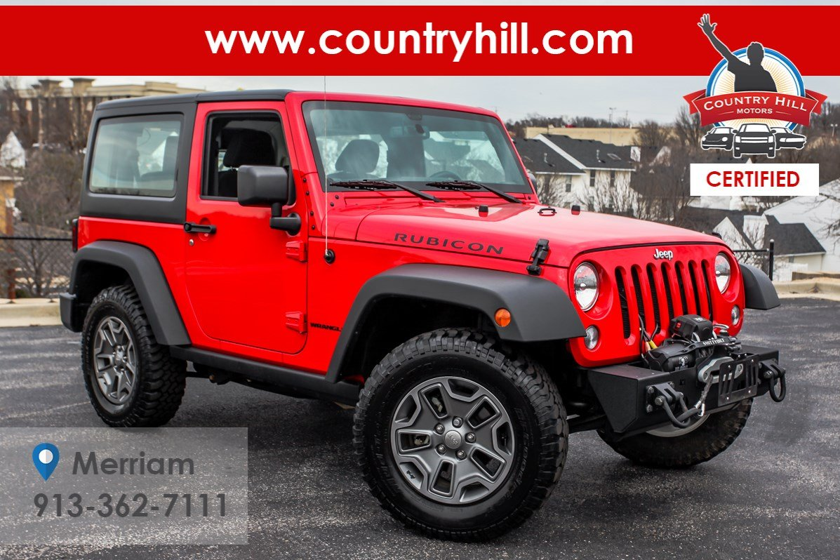 Certified Pre-Owned 2016 Jeep Wrangler Rubicon