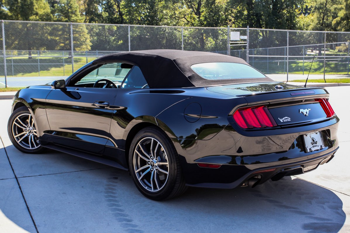 Certified Pre-Owned 2015 Ford Mustang EcoBoost Premium