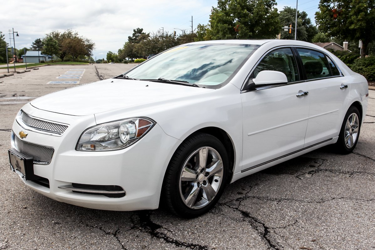 Certified Pre-Owned 2012 Chevrolet Malibu LT w/2LT