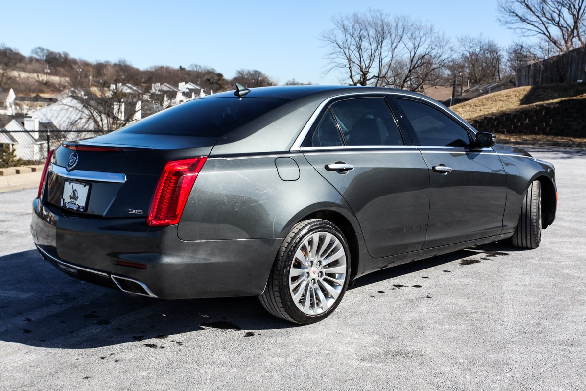 Certified Pre-Owned 2014 Cadillac CTS Sedan Luxury AWD
