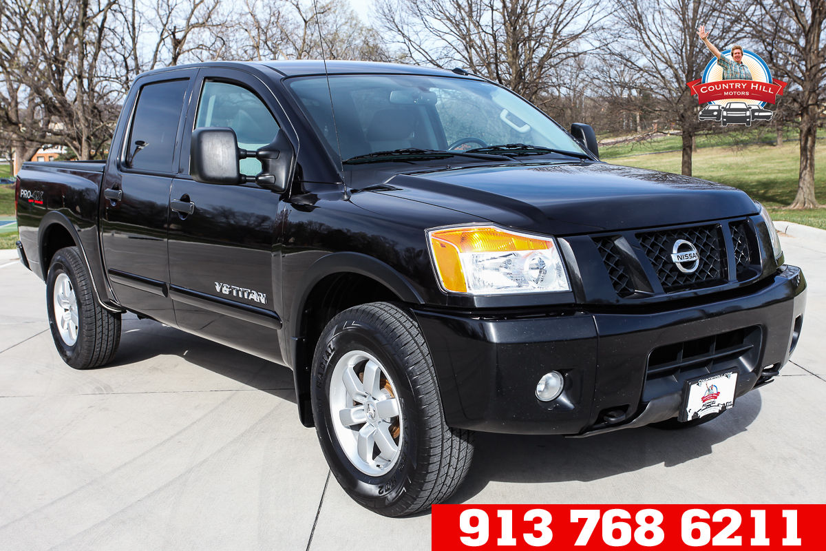 Pre-Owned 2012 Nissan Titan PRO-4X
