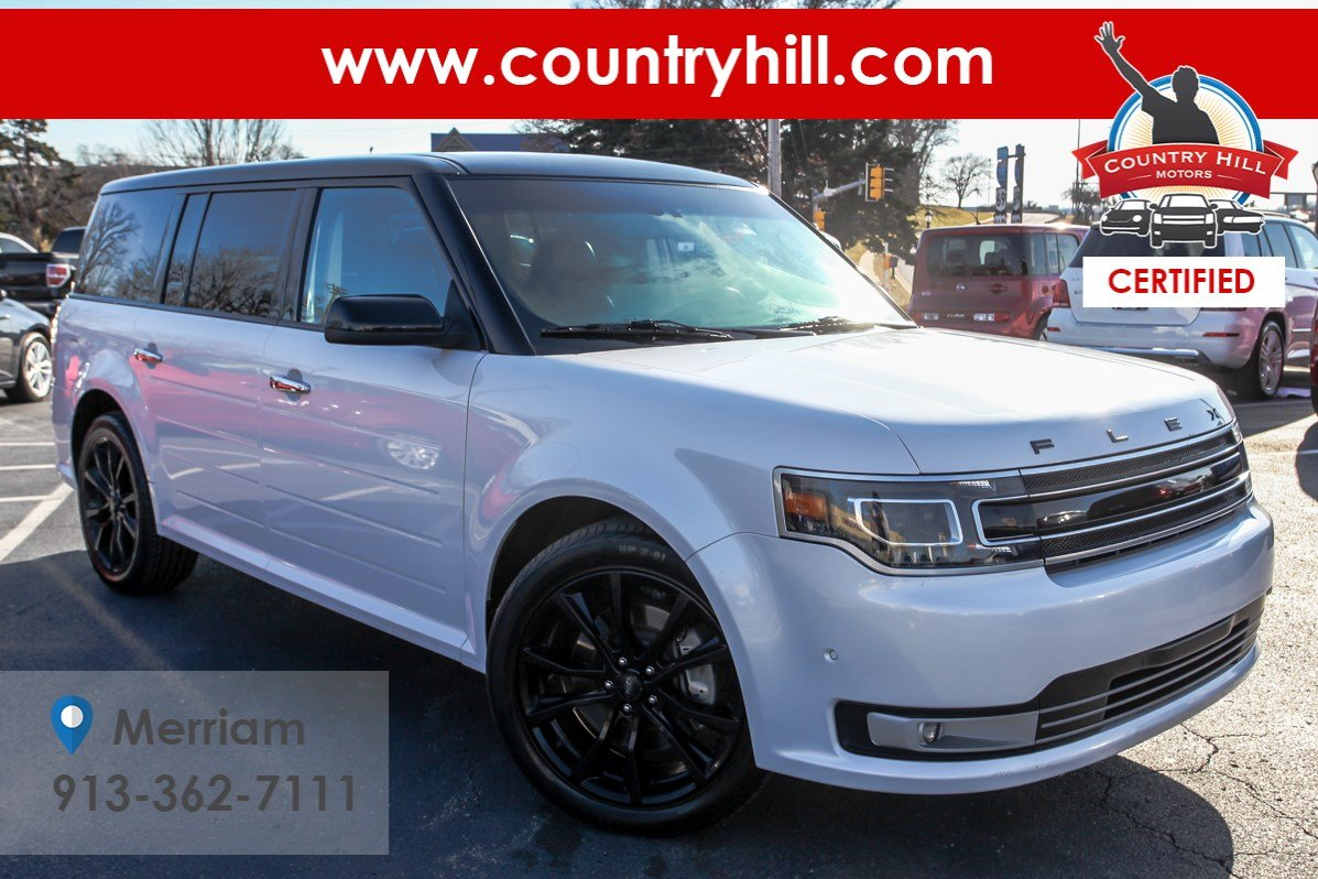 Certified Pre-Owned 2018 Ford Flex Limited EcoBoost
