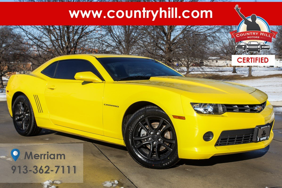 Certified Pre-Owned 2014 Chevrolet Camaro LS