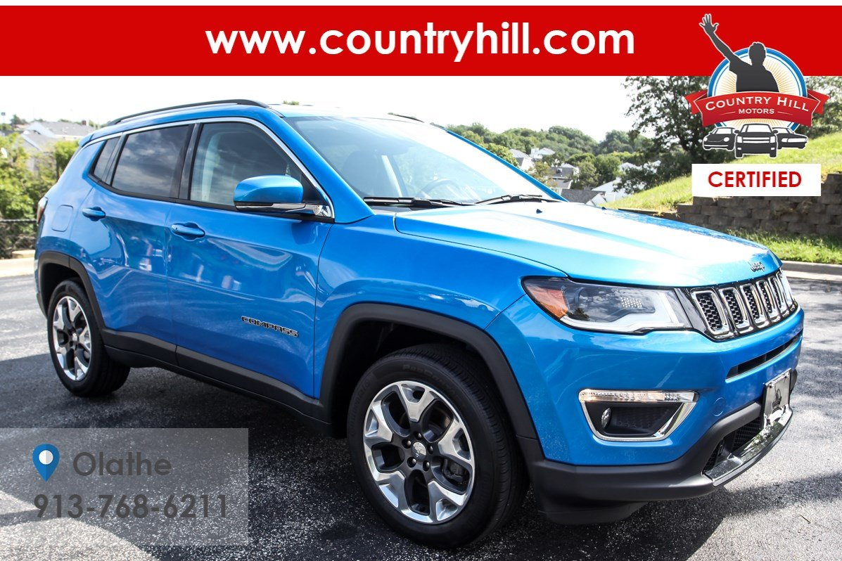 Certified Pre-Owned 2018 Jeep Compass Limited