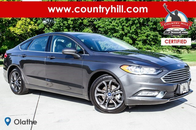 Certified Pre Owned 2018 Ford Fusion S