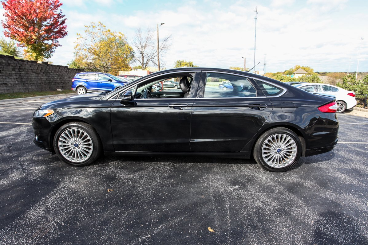 Certified Pre-Owned 2015 Ford Fusion Titanium