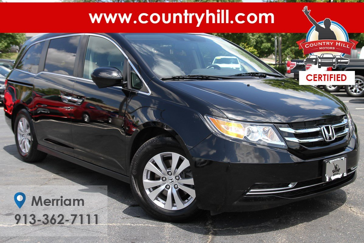 Certified Pre-Owned 2015 Honda Odyssey EX-L