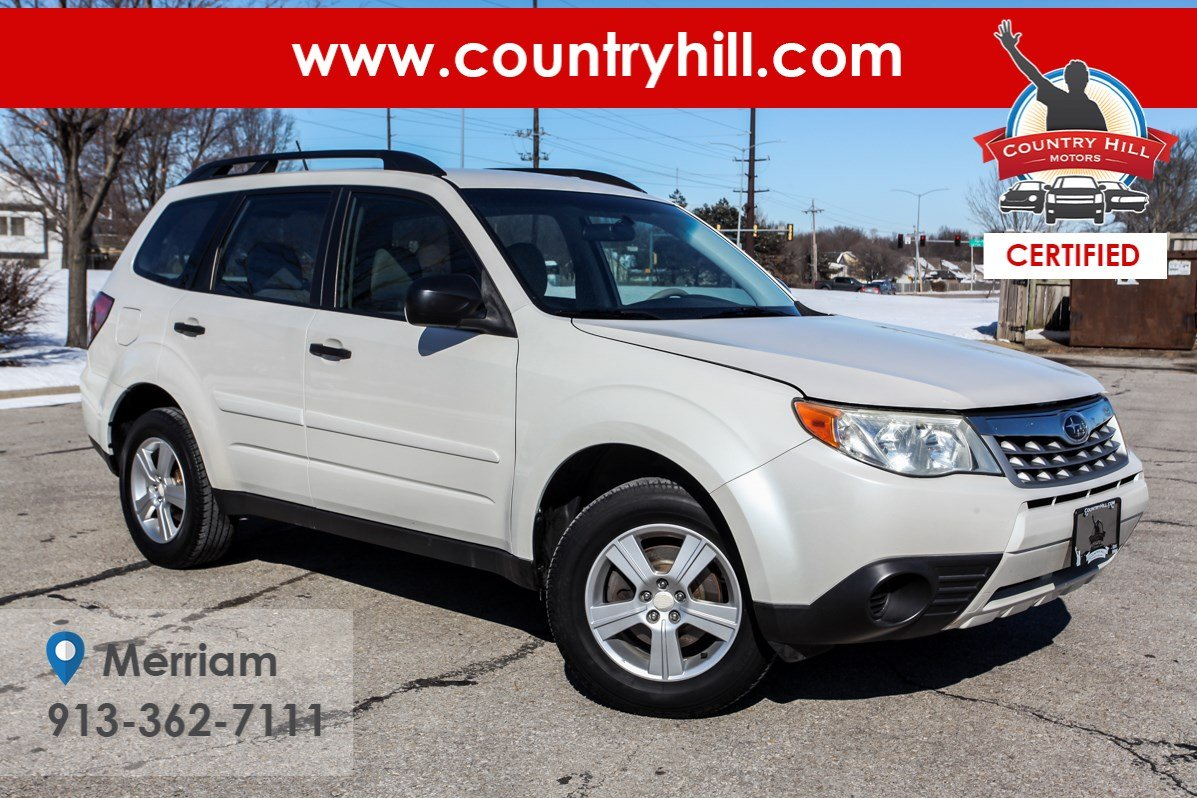 Certified Pre-Owned 2011 Subaru Forester 2.5X