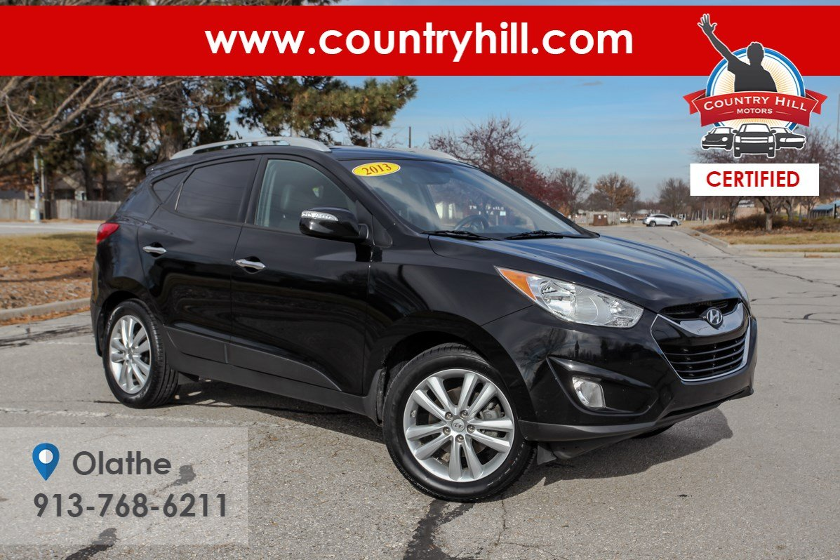 Certified Pre-Owned 2013 Hyundai Tucson Limited