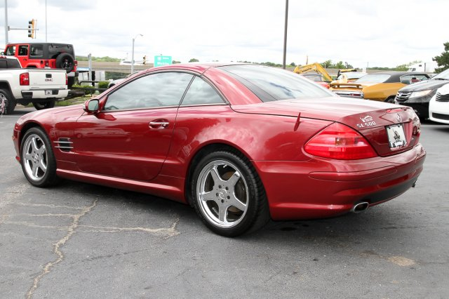 Pre-Owned 2003 Mercedes-Benz SL-Class 2DR ROADSTER