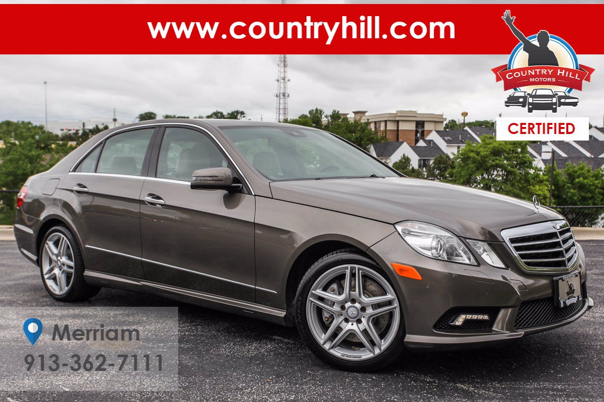 Certified Pre-Owned 2011 Mercedes-Benz E-Class E 550 Luxury