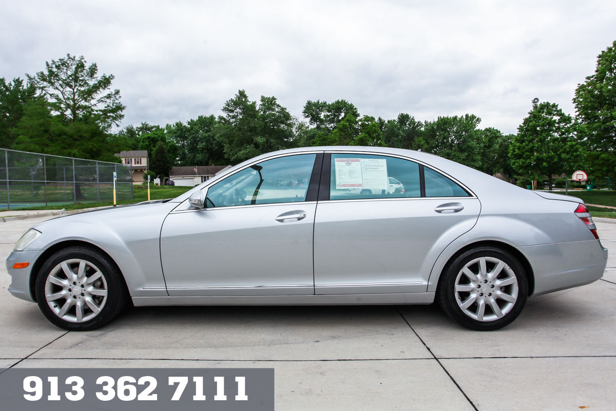 Pre-Owned 2008 Mercedes-Benz S550 4DR SDN AWD 5.5L