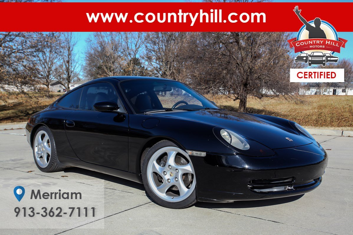 Certified Pre-Owned 1999 Porsche 911 Carrera Carrera